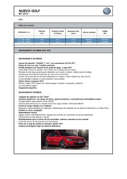 NUEVO GOLF - Volkswagen Canarias