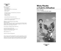 Micky Risotto y el perro chihuahua