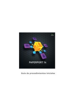PaperPort 14 Guía de procedimientos iniciales