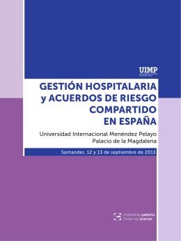 Gestión Hospitalaria. 2014.