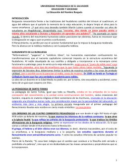 UNIVERSIDAD PEDAGOGICA DE EL SALVADOR EDUCACION Y