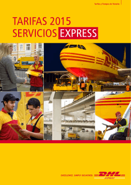 Express Services Tariff (Spanish only)