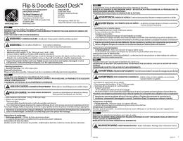Flip & Doodle Easel Desk™
