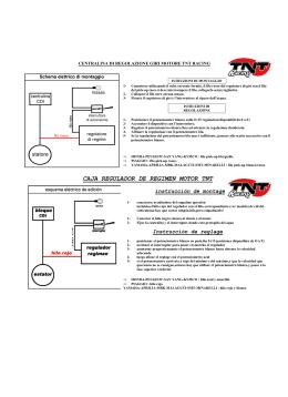 CAJA REGULADOR DE REGIMEN MOTOR TNT