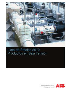 Descarga nuestro catálogo de productos ABB en formato PDF