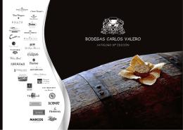 catálogo - Bodegas Carlos Valero