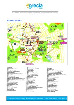 HOTELES ATENAS1 - Viajes a Grecia