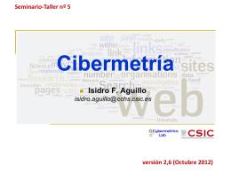 Cibermetría - iniciativas do ibict para a visibilidade da ciência