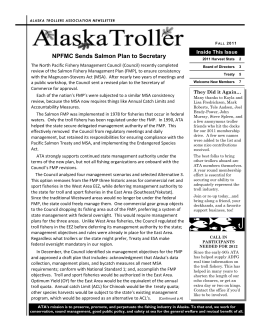 Fall 2011 - Alaska Trollers Association