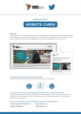 WEBSITE CARDS - IMSCorporate