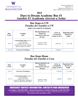 Dare to Dream Academy Bus #1 Autobús #1 Academia Atrevete a