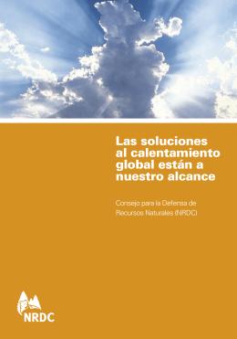 Las soluciones al calentamiento global están a nuestro alcance