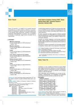 Anatomía - Editorial Médica Panamericana: Libros de medicina