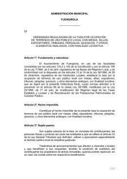 232 ADMINISTRACIÓN MUNICIPAL FUENGIROLA