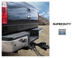 15 Super Duty Puerto Rico Brochure - Spanish