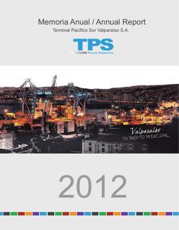 Memoria Anual / Annual Report