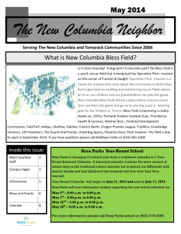 The New Columbia Neighbor
