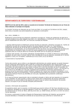 DISPOSICIONES - Ajuntament d`Amposta