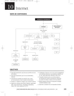 Esquema y solucionario Tema 10 - Ministerio de Educación, Cultura