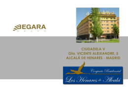 CIUDADELA V Gta. VICENTE ALEIXANDRE, 3 ALCALÁ DE