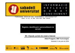 Metadirectorio - Sabadell Universitat