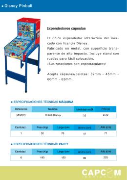 Disney Pinball - Capcom Iberica