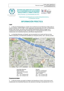 Nota de Información Práctica