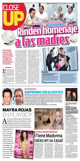 EN PLAYBOY - El Diario de Coahuila