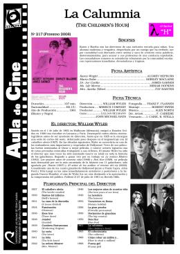 La Calumnia - Aula de Cine de la ULPGC
