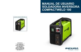 manual de usuario soldadora inversora compactweld 100