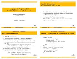 Lenguajes de Programación I - LDC