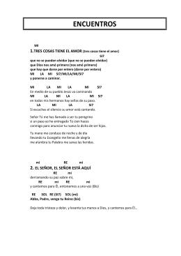 Libro de canto con notas
