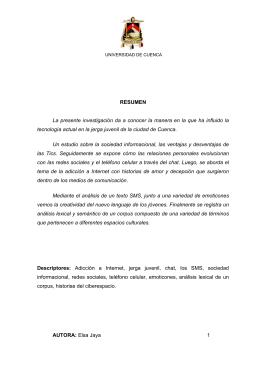 AUTORA - Universidad de Cuenca