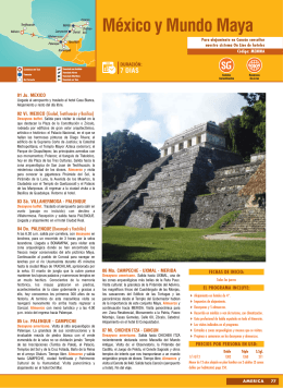 México y Mundo Maya, desde enero 2016