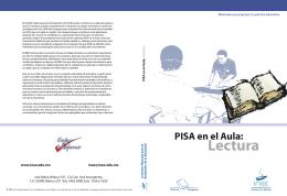 PISA en el aula: Lectura - Instituto Nacional para la Evaluación de la