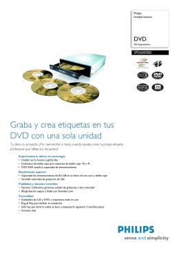 SPD6005BD/10 Philips Unidad interna