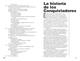 La historia de los Conquistadores