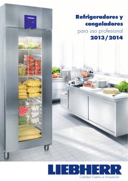 Refrigeradores y congeladores para uso profesional