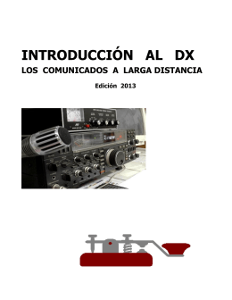 Introducción al DX - Webscastellon.com