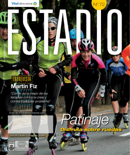 Patinaje - Fundación Estadio