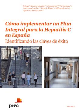 Cómo implementar un Plan Integral para la Hepatitis C en España