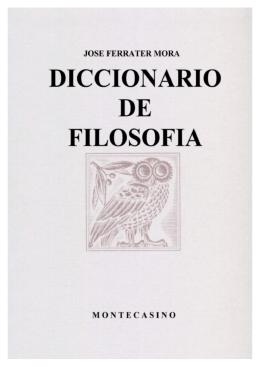 Diccionario de Ferrater Mora