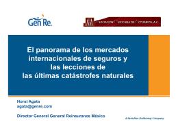 PanoramaMercadosInternacionales - Por una Asociación Proactiva