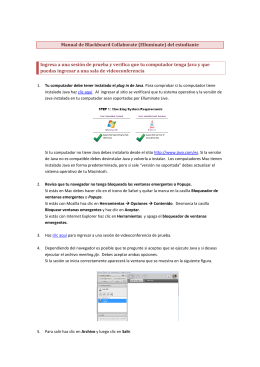 Manual de Blackboard Collaborate (Elluminate) del estudiante
