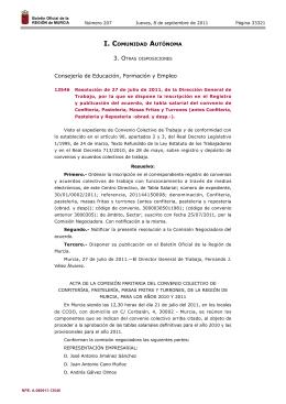 13546 Resolución de 27 de julio de 2011, de la Dirección General
