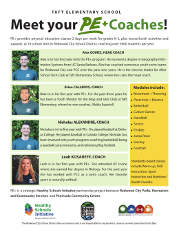 Meet your Coaches!