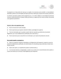 Descargar PDF - Secretaría de Relaciones Exteriores