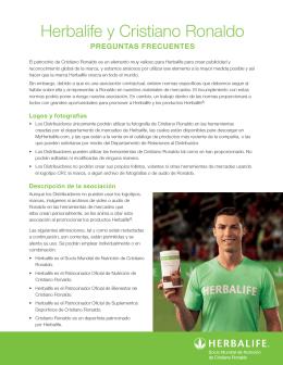 Herbalife y Cristiano Ronaldo