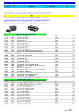 Consumibles Compatibles TONERS PARA HP® LASER
