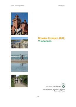 Dossier turístico 2012 Viladecans